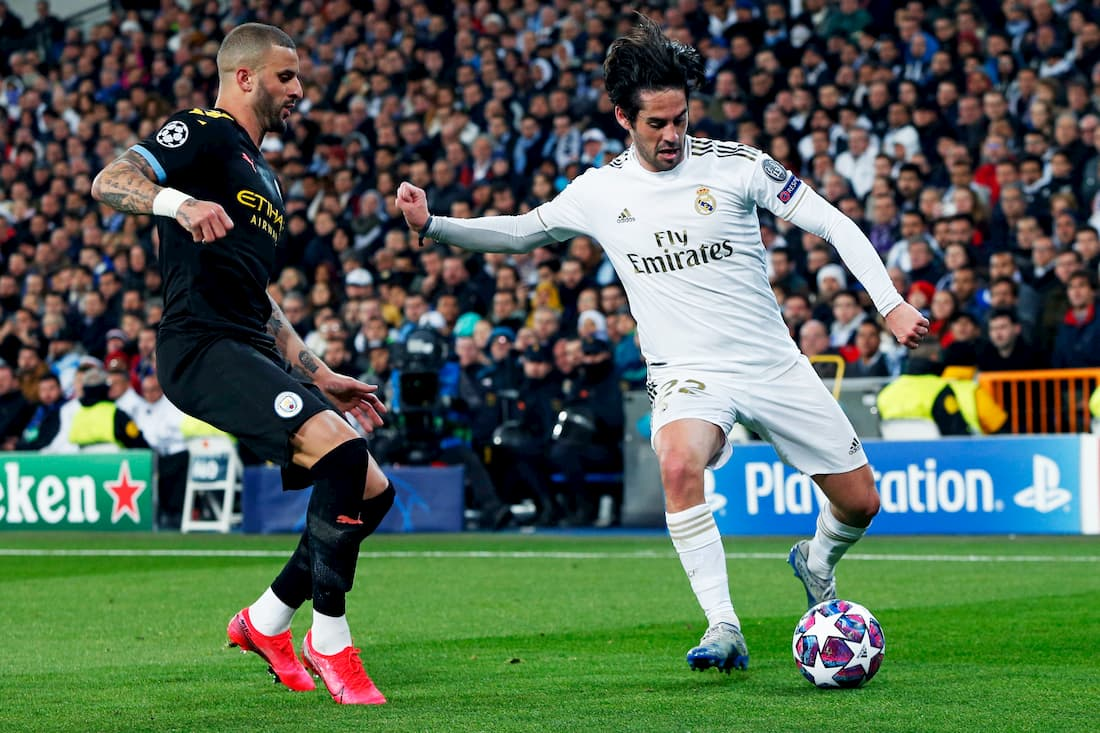 Manchester CIty - Real Madrid stream