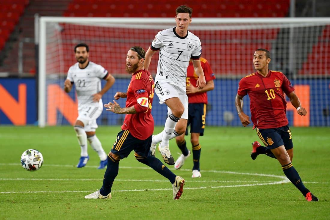 Sergio Ramos är spelklar till matchen mot Ukraina.