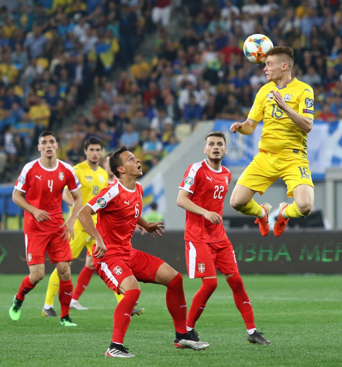 Serbien möter Portugal under lördagen.