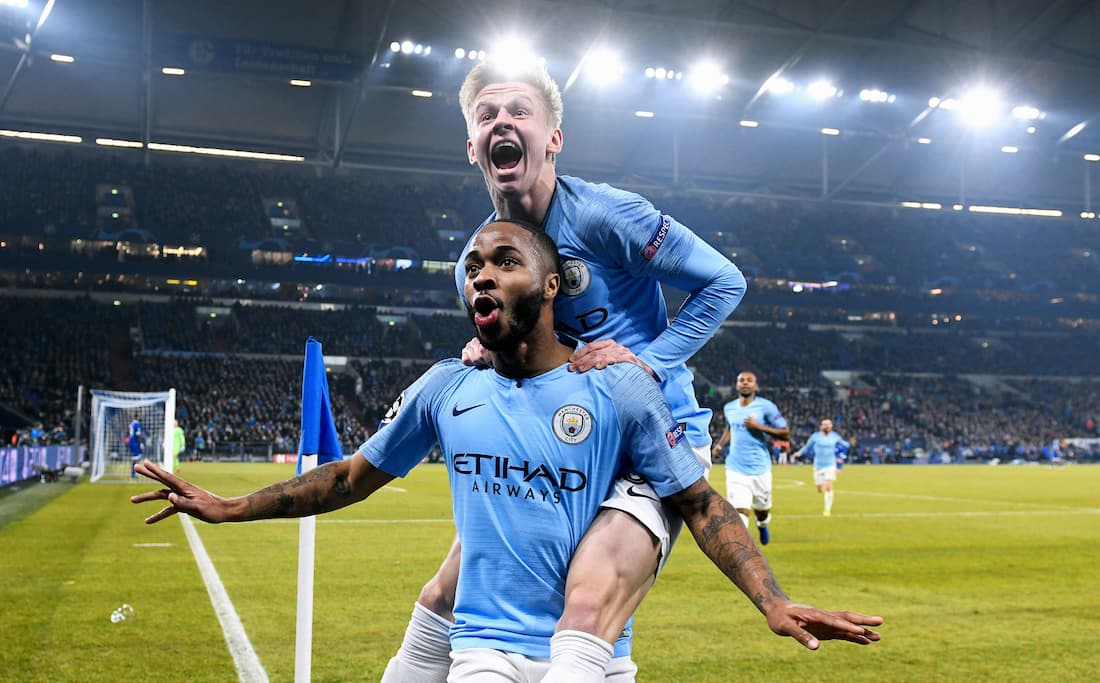 Man City möter Dortmund i Champions League.