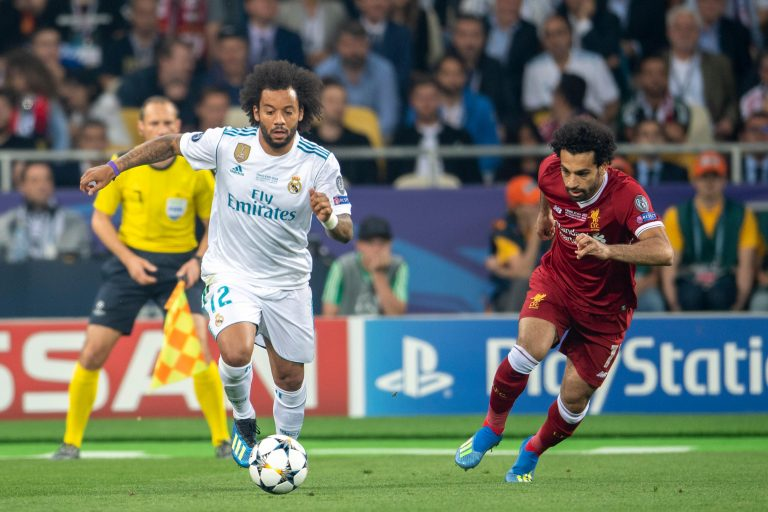 Real Madrid vs Liverpool combined Champions League XI ...  |Real Madrid- Liverpool